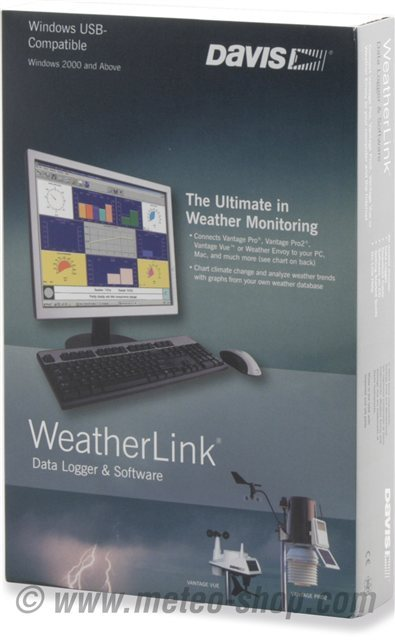 Davis Licenza aggiuntiva WeatherLink per Windows